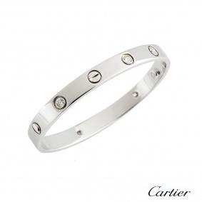 Cartier Love Bracelet Size 16 B6035816